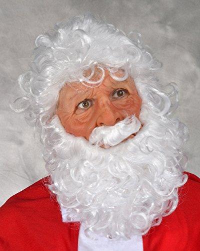 Zagone Super Soft Santa Mask, Papa Noel, Santa, God, Zeus