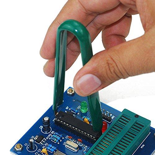 LaDicha 3Pcs Plcc IC Chip Extractor Placa De Circuito De Bios Componente Puller