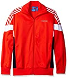 adidas Originals Men's Outerwear Challenger Track Jacket, Core Red, Large