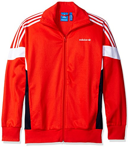 Jacket Track Core (adidas Originals Men's Outerwear Challenger Track Jacket, Core Red, Small)