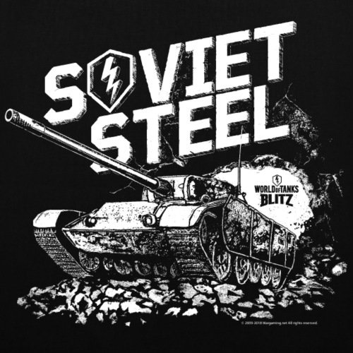 Bag Steel Blitz Tote Spreadshirt Black Tanks Of Soviet World zqT0gTAO