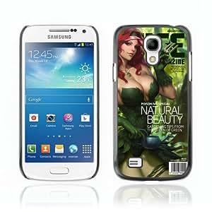 CaseCaptain Black Hard Back Case Cover Samsung Galaxy S4 MINI ( Cool Poison Ivy Batman Cover )