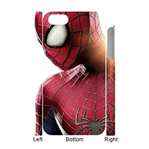 Hjqi - DIY Spiderman 3D Phone Case, Spiderman Personalized Case for iPhone 4,4G,4S