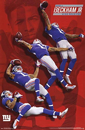 Nfl New York Giants  Odell Beckham Jr  22  X 34  Wall Poster