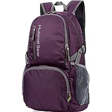 Mubasel Gear Backpack - Packable Lightweight Backpacks for Travel- Daypack for Women Men