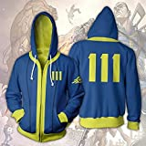 Hot Game Role Play Unisex Hoodie Classic Zip up
