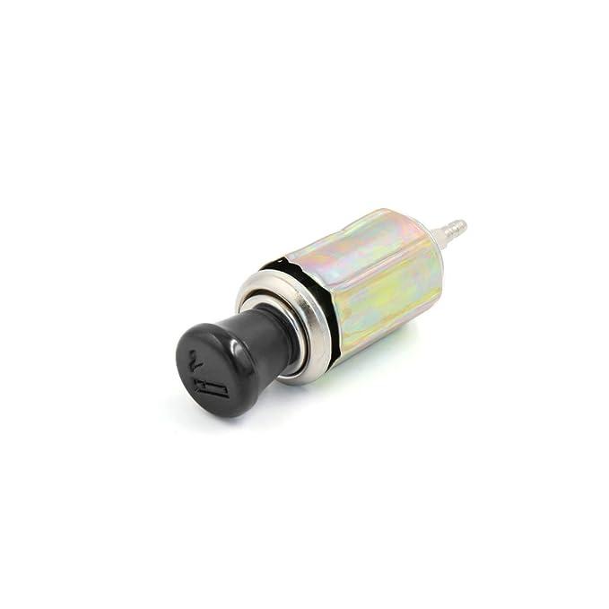 Sourcingmap Toma Conversión Cable de Encendedor de Cigarrillo de Coche 12Vdc: Amazon.es: Coche y moto