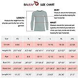 BALEAF Boys' & Girls' Youth Compression Shirts Long