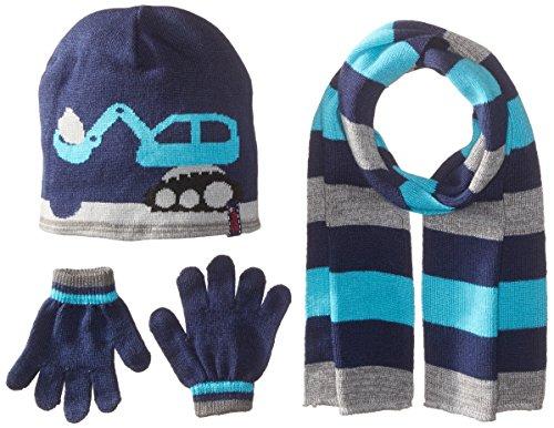 Knit 3 Piece Set - Toby & Company Toddler Boys Action Knit 3 Piece Set, Navy, Toddler