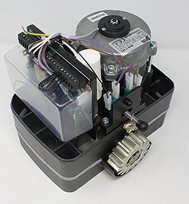 Kit completo motor corredera CARRERA 800KG con 6 metros de cremallera de acero + 4 mandos a distancia TX4 + sensor de reflexión. Para automatizar puertas y cancelas correderas de garaje y