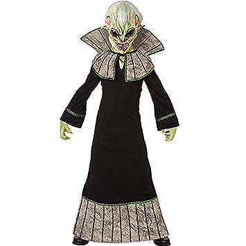 Adult Alien Costume - Halloween Fancy Dress  sc 1 st  Amazon UK & Adult Alien Costume - Halloween Fancy Dress: Amazon.co.uk: Toys u0026 Games