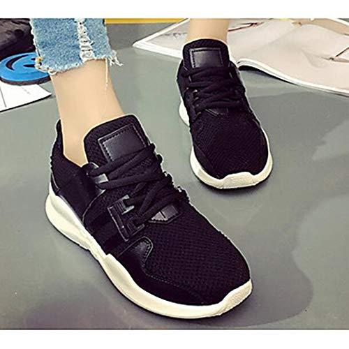 US5 EU36 5 Donna CN35 Sneakers Nero Casual Rosa Per Per Estate Comoda Bianco Scarpe 5 UK3 Black Di Primavera Corda TTSHOES T8Z5qaRnxw