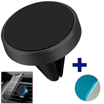 Ociodual Soporte Magnetico para Rejilla de Coche con Iman Potente Telefono GPS Negro