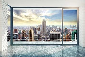 Papier Peint Déco Poster New York At Home 3 X 270 M Déco Et Photo