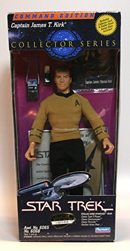 Star Trek Command Edition Captain James T Kirk 9 Inch Figure