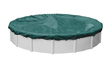 Robelle 3930-4 Supreme Plus Winter Pool Cover for Round Above Ground  Swimming Pools, 30-ft. Round Pool
