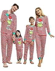 Linnhoy Christmas Matching Family Pajamas Set, Christmas Pjs for Family/Women/Men/Kids