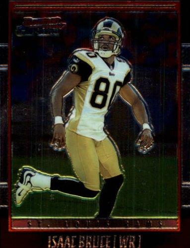 2001 Bowman Chrome Football Card #80 Isaac Bruce ()