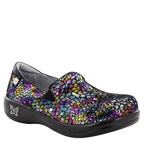 Alegria Keli Womens Slip-On Shoe Minnow Rainbow 9 M US