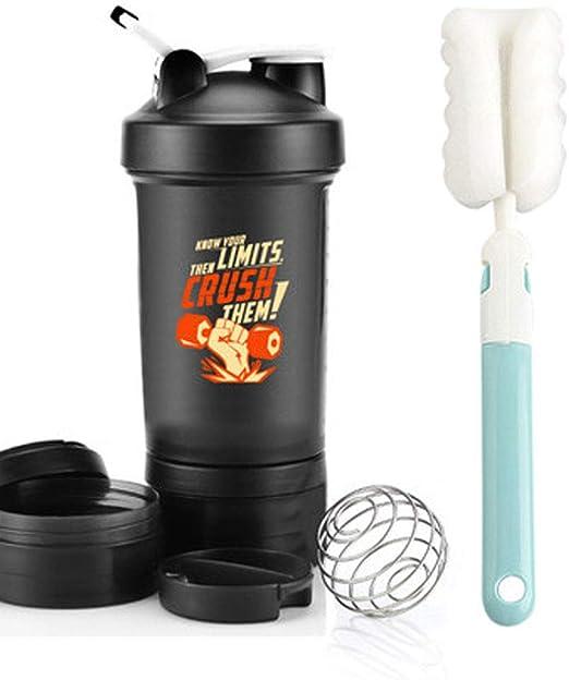 Agitar Taza de proteína en Polvo Taza licuadora Deportes Taza de ...