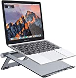 Nulaxy Portable Laptop Stand, Ergonomic Aluminum