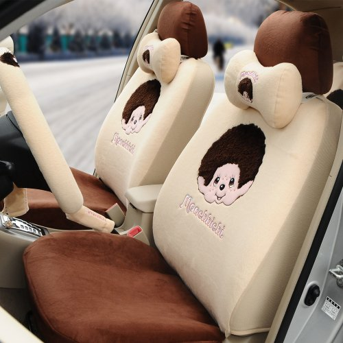 brown car seat covers for women - 9