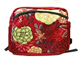 Simply Good Ultra Bag, Marigolds/Roses, Red