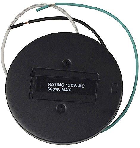 Lightolier Black Round Monopoint