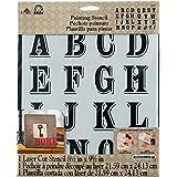 FolkArt Large Painting Stencil, 30943 Peddler Alphabet