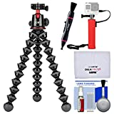 Joby GorillaPod 5K Flexible Tripod with Ball Head Kit + Hand Grip + Lens Pen + Kit