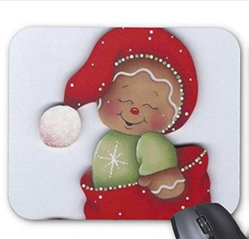 (Christmas Gingerbread Clip Art Mousepad)