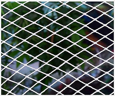 Red De Seguridad Blanca, Red De Seguridad De Construcción, Malla De Nylon, Escaleras para Niños, Red De Protección, Balcón, Red De Protección, Aislamiento, Protección contra Caídas, Red contra Gatos: Amazon.es: Deportes y
