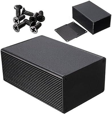 1 caja electrónica de aluminio para medidor de instrumentos PCB ...