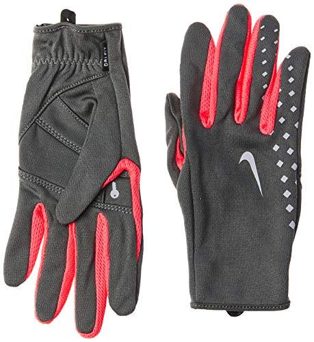 Luvas de Corrida  Women'S Lw Run Gloves C/ Suporte Para Chave, Grande, Preto