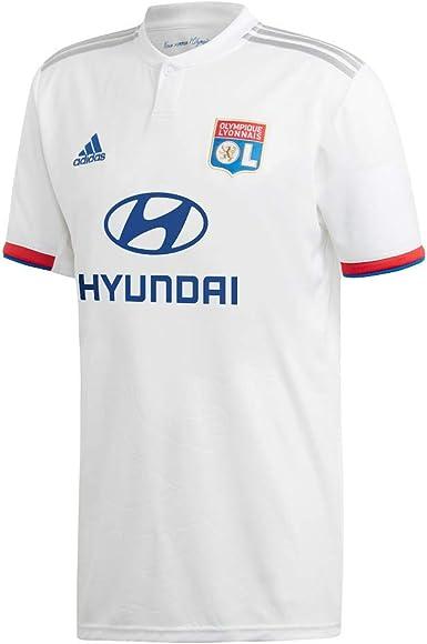 Gaseoso Calvo Noble  Amazon.com : adidas Olympique Lyon Home Jersey 2019-2020 : Clothing