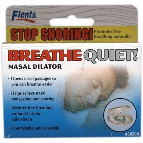 Flents Breathe Quiet! Nasal Dilator - Stop Snoring!