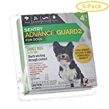 Sentry Advance Guard 2 for Dogs Dogs 3-11 lbs - 4 Month Supply - Pack of 6