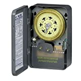 Intermatic T2005 Compact 120-Volt 7-Day Mechanical Time Switch with Nema 1 Indoor Cover