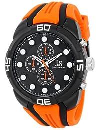 Joshua & Sons Men's JS61OR Analog Display Japanese Quartz Orange Watch