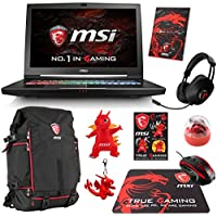 MSI GT73VR TITAN PRO-865 Enthusiast (i7-7700HQ, 64GB RAM, 1TB NVMe SSD + 1TB HDD, NVIDIA GTX 1080 8GB, 17.3 Full HD 120Hz 5ms, Windows 10 Pro) VR Ready Gaming Notebook