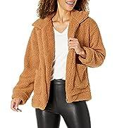 PRETTYGARDEN Women's Fashion Long Sleeve Lapel Zip Up Faux Shearling Shaggy Oversized Coat Jacket...