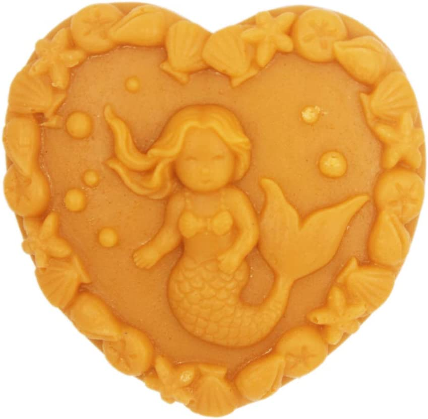 S020 3D Mermaid Silicone Soap Mold 3D Handmade Craft Mould Longzang Soap Molds