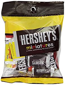 Hershey's Miniatures Assortment (5.3-Ounce Bags, Pack of 12)