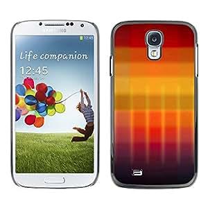 TopCaseStore / la caja del caucho duro de la cubierta de protección de la piel - Gradient colors - Samsung Galaxy S4 I9500