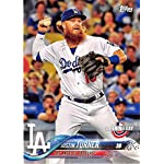 2018 Topps Opening Day #166 Justin Turner Los Angeles Dodgers Baseball Card