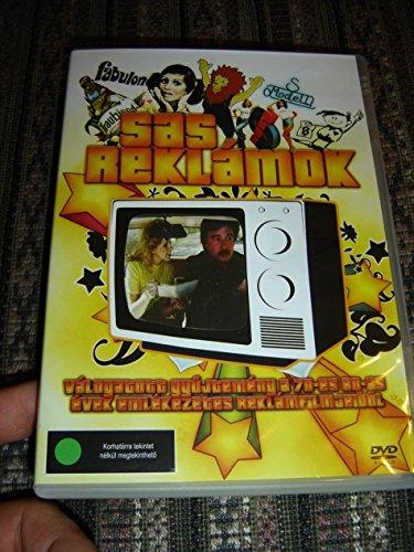 Sas Reklámok Válogatott gyűjtemény a 70-es 80-as évek emlékezetes reklámjaiból [DVD Region 2 PAL] Audio: Hungarian / Hello Leo / Fabulon / Libero / Agi Van? / Magyarorszag Reklamfimjei