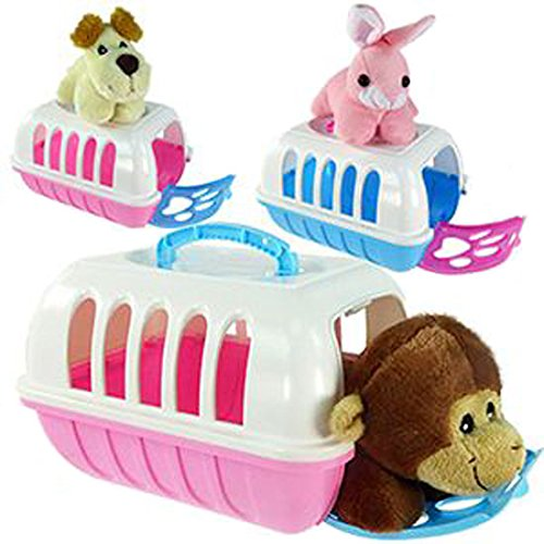 Pet Cute Plush Animal Carrier product image