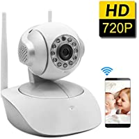SDETER Security Wireless Camera 1280x720P Home Surveillance WIFI Camera, Baby Video Monitor With Night Vision