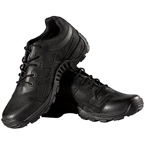 FREE SOLDIER - Zapatos de senderismo, escalada y otros deporte para hombre, suela antideslizante y calzado transpirable negro