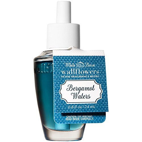 Bath and Body Works Wallflowers Refill NEW LOOK! (Bergamot Waters) by White Barn